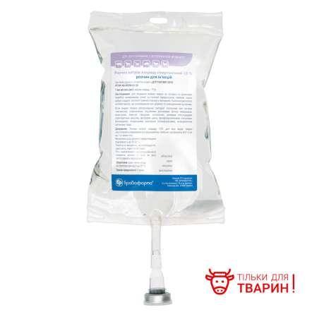 Розчин натрію хлориду гіпертонічний 7,5%, 500 мл мішок інфуз.